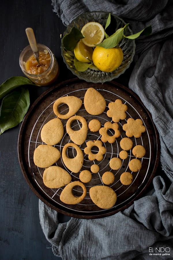galletas de limón y miel