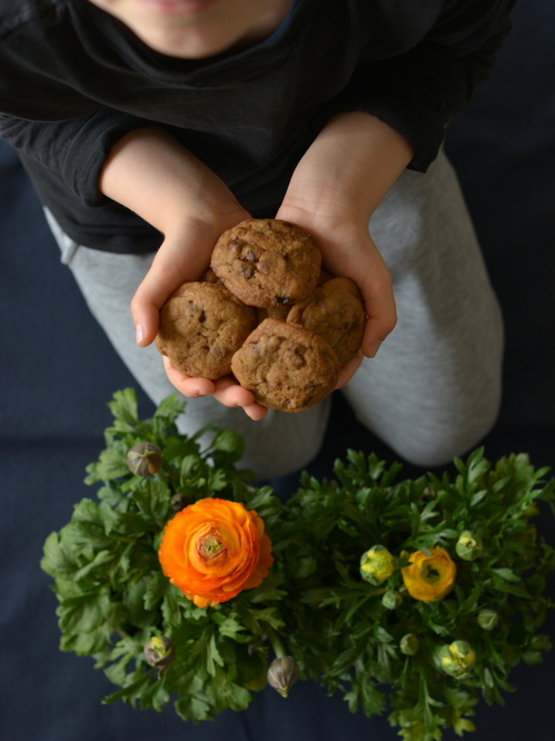 Kristóf puha csokis keksze (soft chocolate chip cookies)