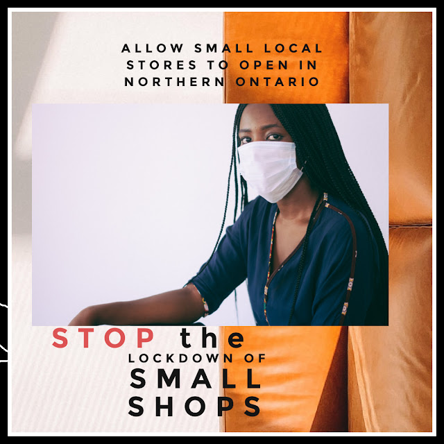 stop lockdown of small shops