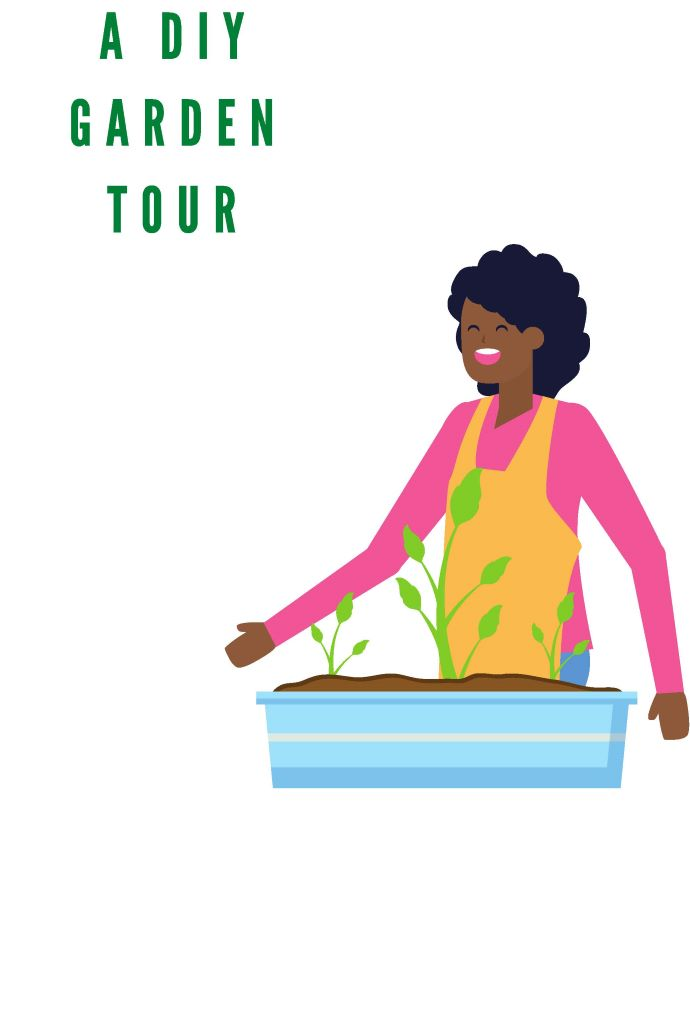 Tour of  Our DIY Garden Tour- design addict mom