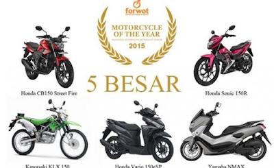 Motor Terbaik Indonesia Update 2017