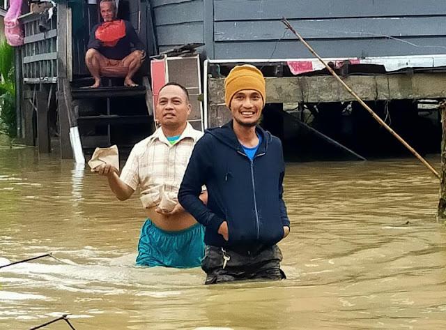 Air Sungai Masamba Kembali Meluap, Camat Masamba: Sebanyak 86 Warga Mengungsi