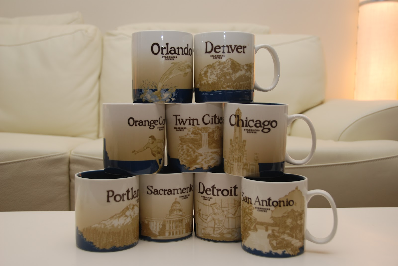 Starbucks City Mugs: USA GLOBAL ICONS
