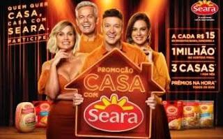 Cadastrar Nova Promoção Casa Com Seara 2019 - 1 Milhão de Reais e 3 Casas