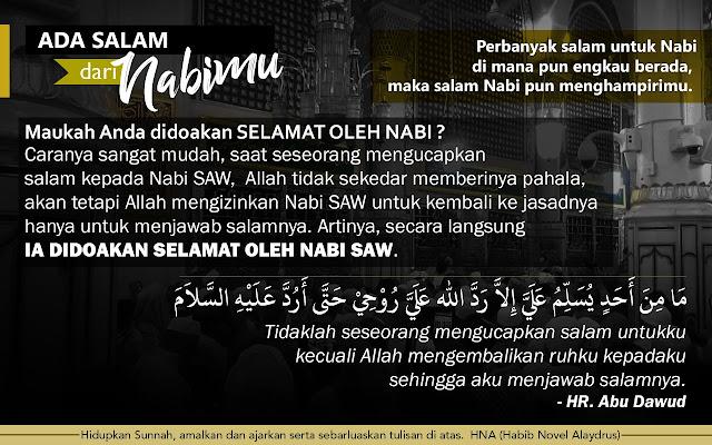 Ada Salam Dari Nabimu! Baginda Rasulullah Muhammad SAW