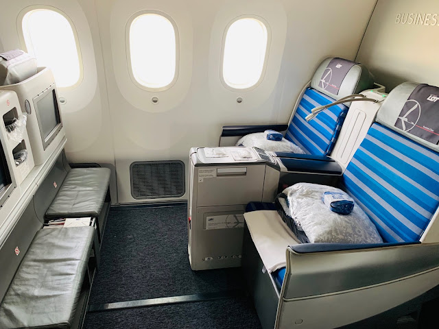 LOT Polish Airlines LO31 Business Class Boeing 787-8 Dreamliner Budapest (BUD) to Chicago O'Hare (ORD)