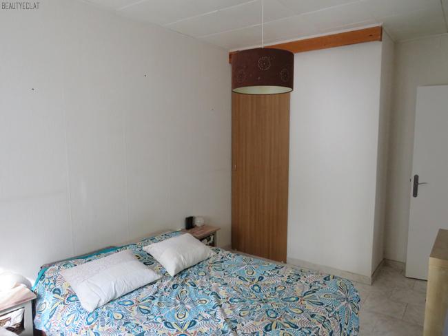 chambre a renover avant apres dulux