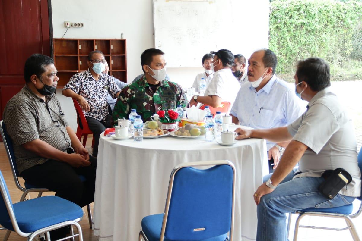 Wabup Asahan Tinjau Vaksinasi Covid-19 Ditiga Wilayah dan Resmikan Rumah Isolasi Mandiri PT Socfindo Kebun Aek Loba