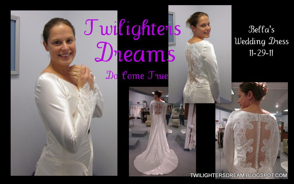 Twilighters Dream: *Bella's Wedding Dress* - Dream Come True