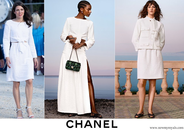 Charlotte Casiraghi wore CHANEL Cruise 2021 Collection
