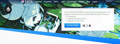 krita digital art dan animasi logo gratis untuk pc/laptop