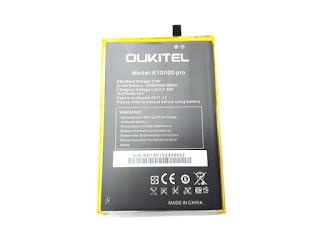 Baterai Oukitel K10000 Pro Original 10000mAh Battery