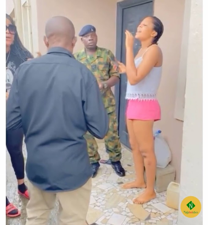 Lagos Slay Queen Busted For Deceitful With Her Boyfriend To Send Fake Alert (Video)