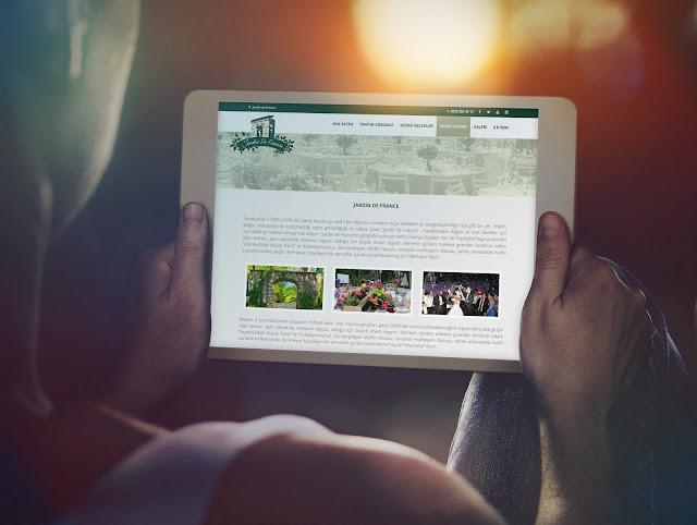 Jardin De France Web Sayfası
