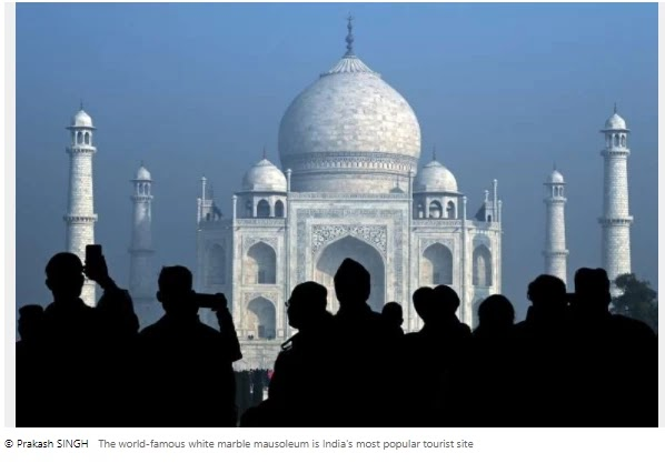 The Taj Mahal reopened even as India's affairs escalated