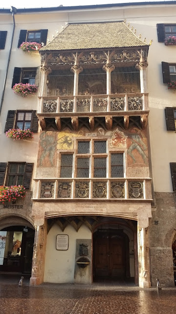 Goldenes Dachl (or the Golden Roof) is Innsbruck's most famous symbol.