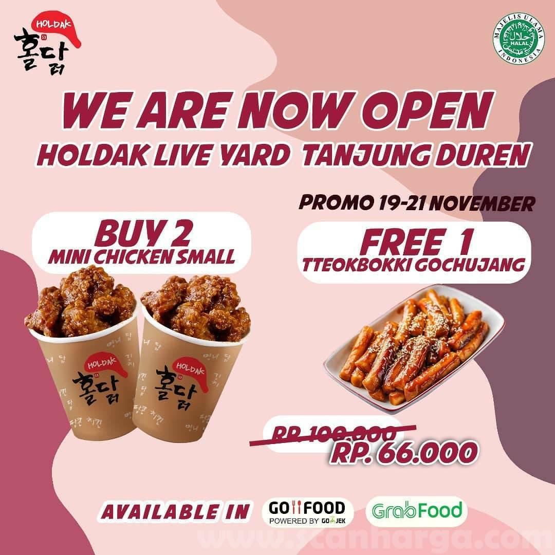 Holdak Live Yard Tanjung Duren Grand Opening Promo Buy 2 Get 1 Free