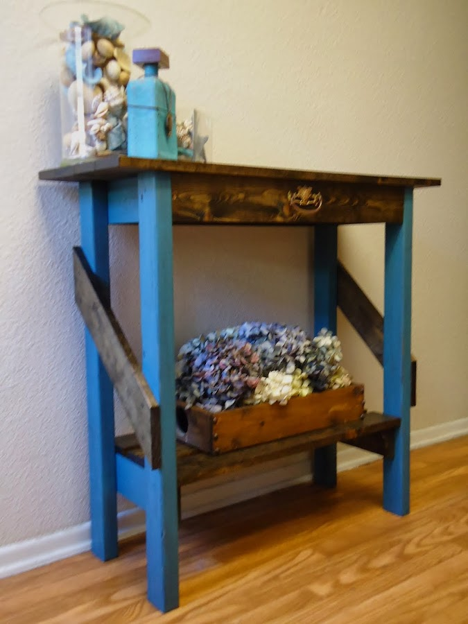 Vintage Style Accent Table - SOLD