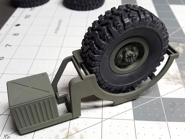 WPL B-24 Spare Tire
