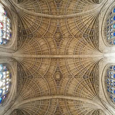 Techo de la King's College Chapel, Cambridge