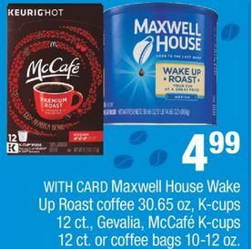 McCafe Coffee CVS Coupon Deal $1.99 3/1-3/7