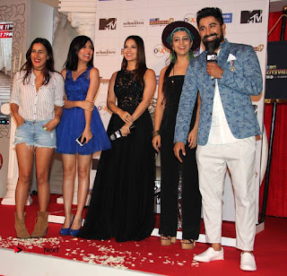 Actress Model Sunny Leone Pictures at The Launch of MTV Splitsvilla 9  0020.jpg