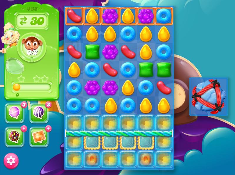 Candy Crush Jelly Saga saga 435