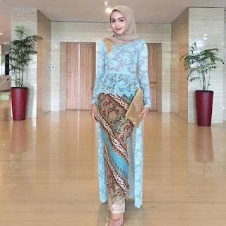 baju kebaya batik 2018