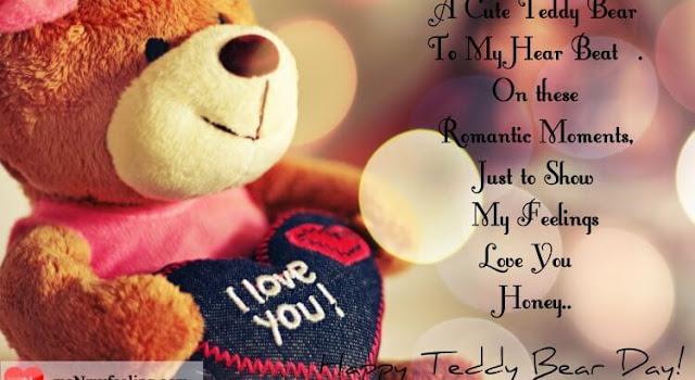 Happy Teddy bear day crads