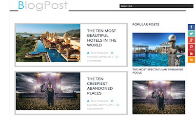 Blog-post-blogger-template