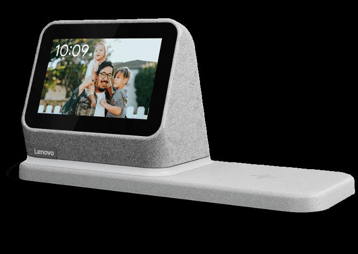 Lenovo Smart Clock 2 | Lenovo stellt eine weitere Smart Clock mit einer kabelloser Ladestation her