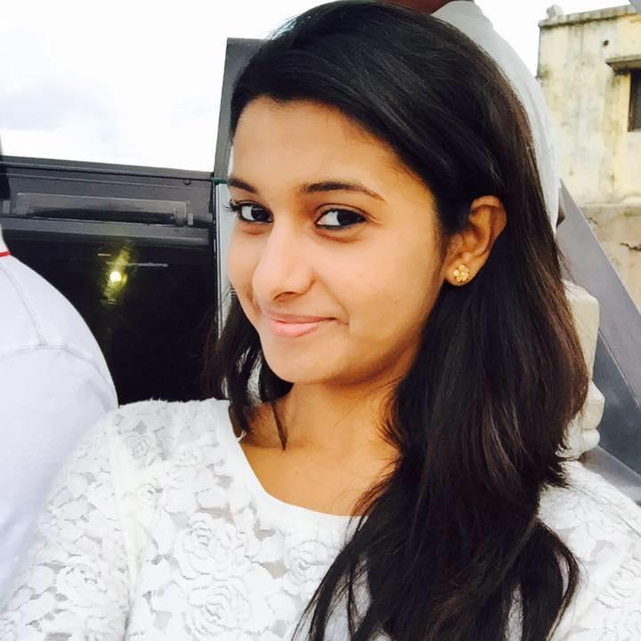 Actress Priya Bhavani Shankar Latest Photo Stills: Top Movie Actress On Woods Ground: Priya Bhavani Shankar's