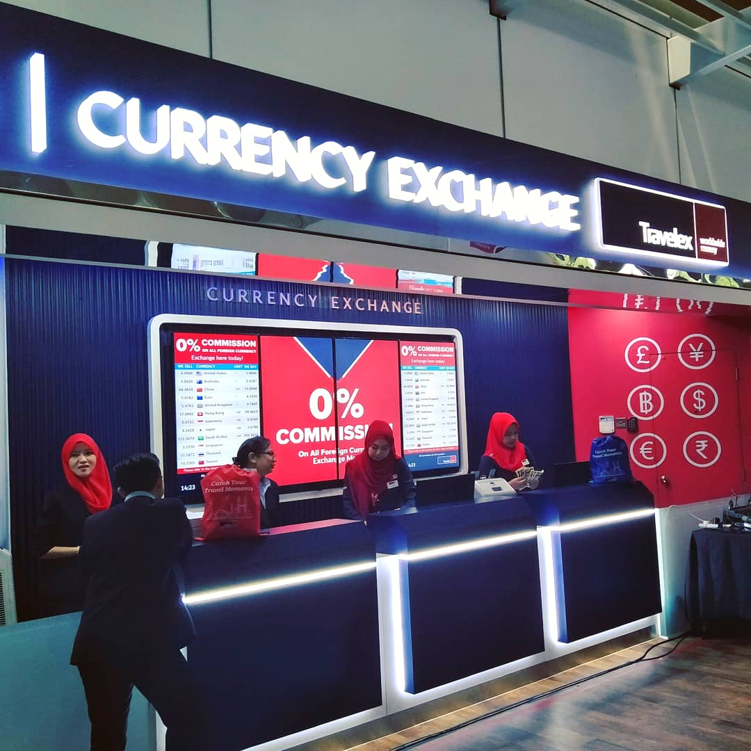 Currency Exchange in KLIA will never be dull again with