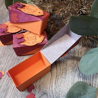 Herbstliche Verpackung von Elfenkunst
