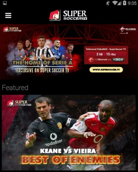 aplikasi streaming bola gratis di android