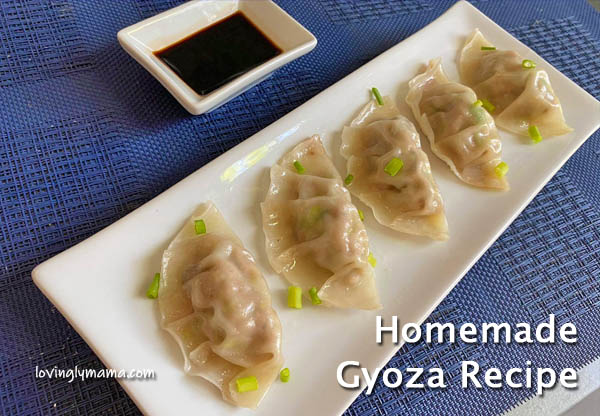 Potstickers, gyoza, Japanese gyoza, Chinese potstickers, how to make gyoza, how to cook pot stickers, gyoza dipping sauce, Kikkoman Less Sodium soy sauce, sesame oil, restaurant-style dishes, dumpling wrapper, how to fold gyoza wrappers, Chinese recipe, Japanese cuisine, Filipino-Chinese, dumplings, healthy dish, homecooking, kitchen hacks, from my kitchen, quarantine menu, Quarantine eats, Covid-19, Covid-19 lockdown, inner chef, homecook, slow cooking, meat recipe, dumpling recipe, gyoza recipe, pot stickers recipe, motherhood, wife,