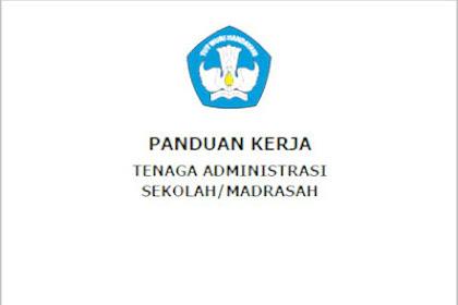 Buku Panduan Kerja Tenaga Administrasi Sekolah Madrasah 2017 PDF