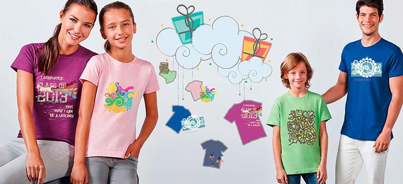 Camisetas baratas Roly para personalizar