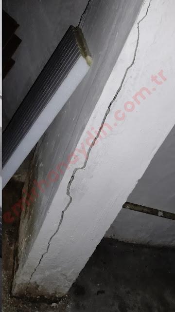 Taşıyıcı Sistem Çatlakları - kolonlarda korozyon çatlağı