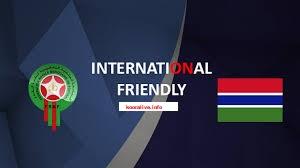 اون لاين يوتيوب مشاهدة مباراة المغرب وغامبيا بث مباشر اليوم 12-06-2019 مباراة ودية اليوم بدون تقطيع