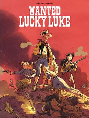 Wanted, Lucky Luke !  la BD de Matthieu Bonhomme