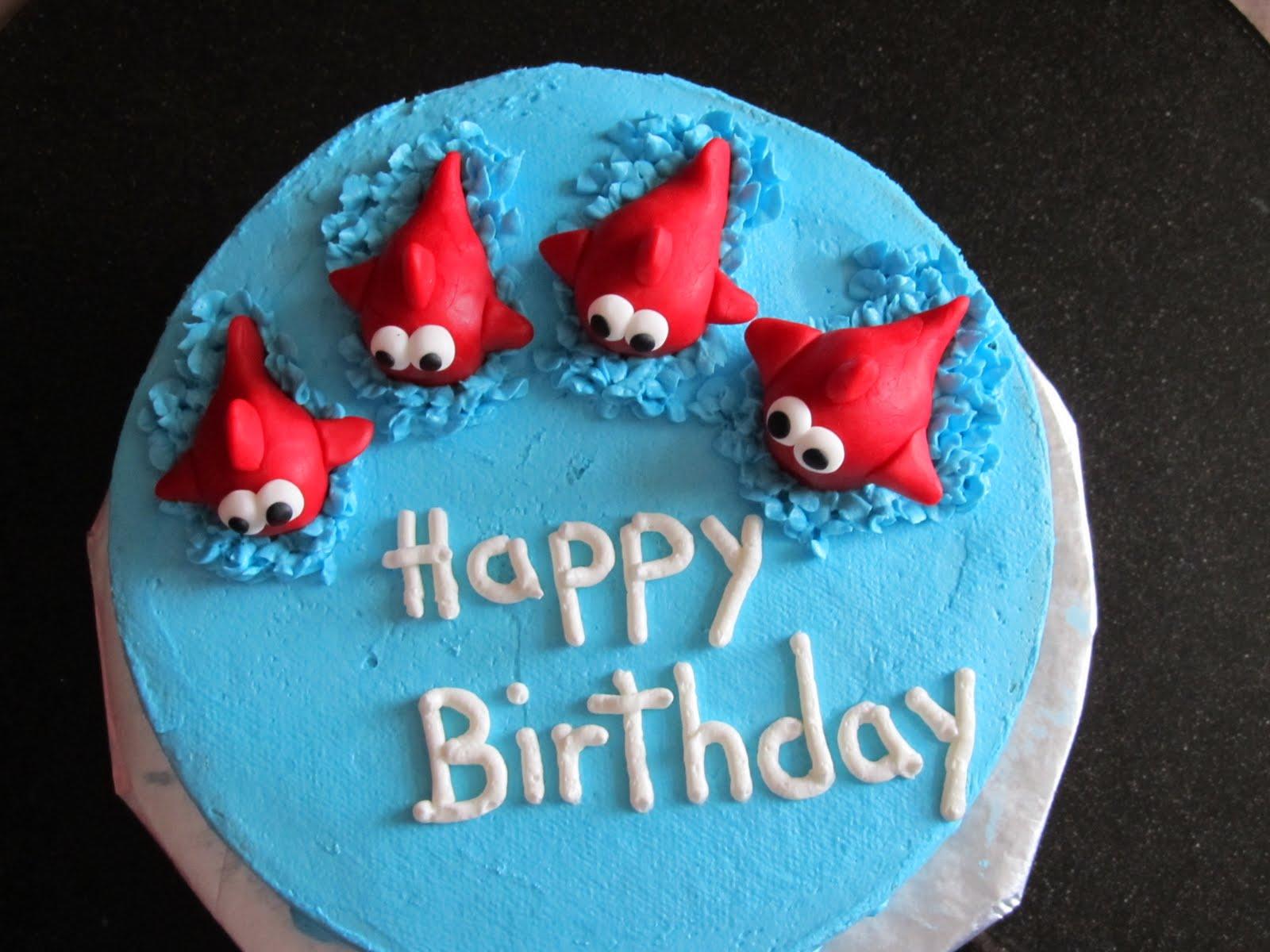 Cake Designs By Steph Happy Birthday Fish Cake