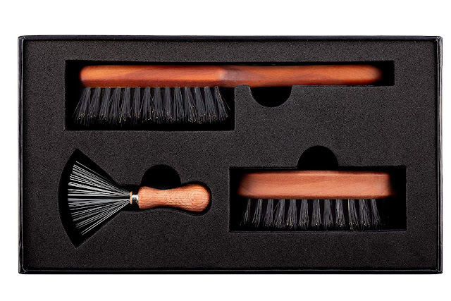 Zilberhaar Basic Beard Brush Kit (Soft Version) 2nd Cut Boar Bristles
