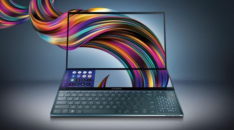 Asus Rilis ZenBook Duo untuk Kreator Konten