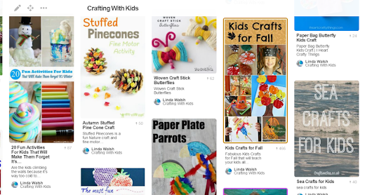 Loved Crafting As A Kid and My Crafting With Kids Pinterest Board