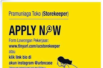 Lowongan Kerja Bandung Storekeeper Urban Case