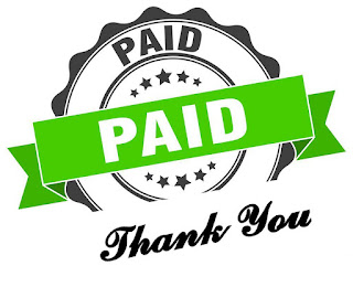 Paid thank you logo