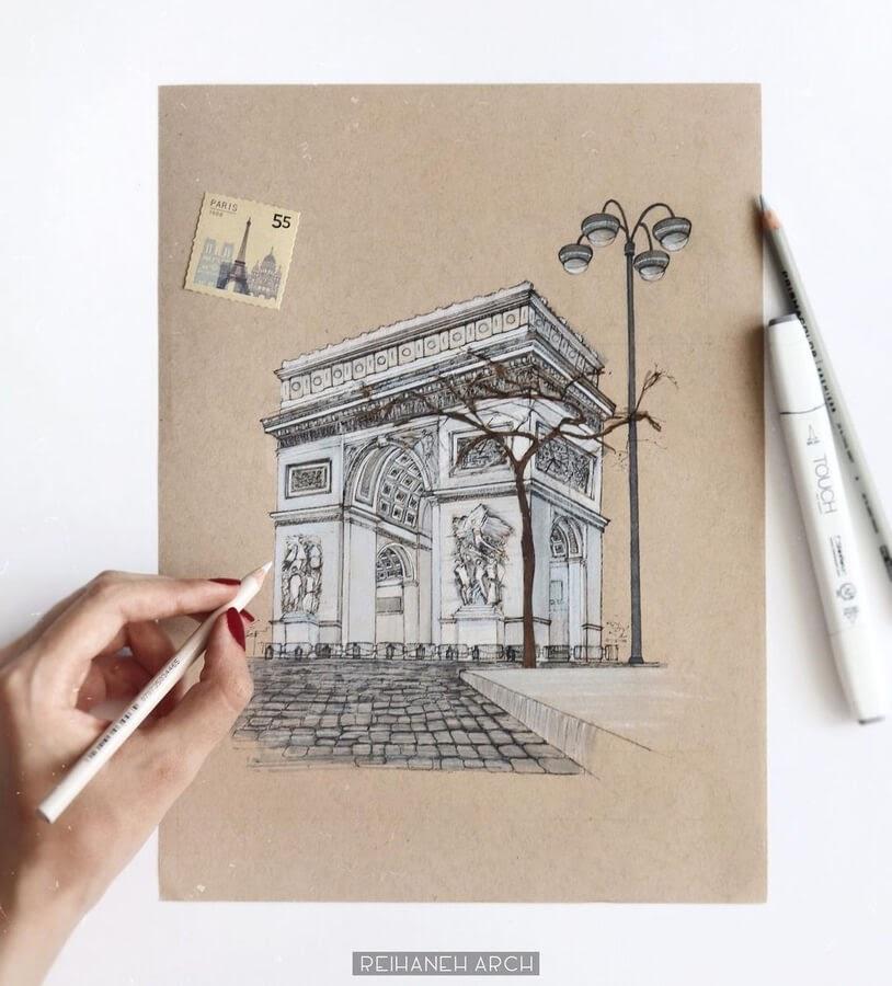 07-Arc-de-Triomphe-Paris-Reihané-www-designstack-co