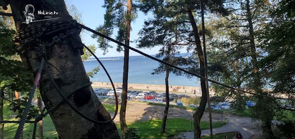 Urodziny Park linowy nad morzem