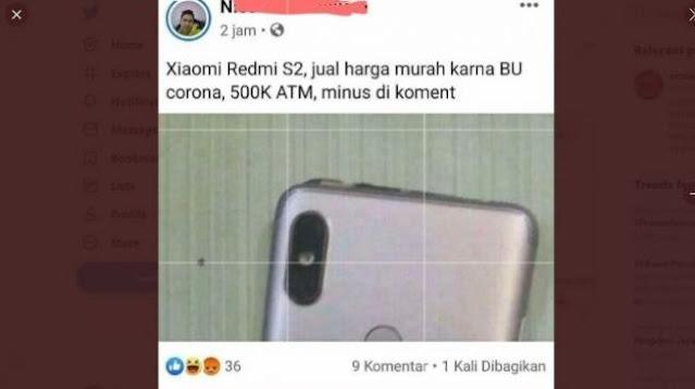 HP Xiaomi Dijual Harga Rp 500 Ribu, Calon Pembeli Emosi